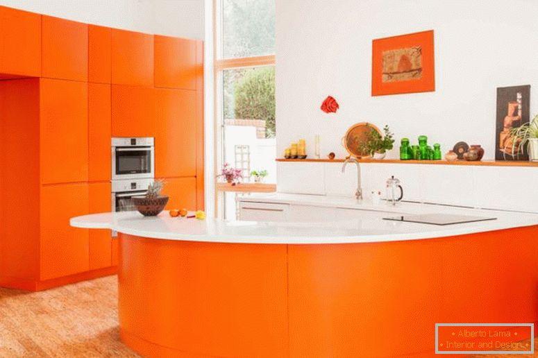 Oranžová kuchyně - recenze fotografií všech funkcí a 8092c8c239
